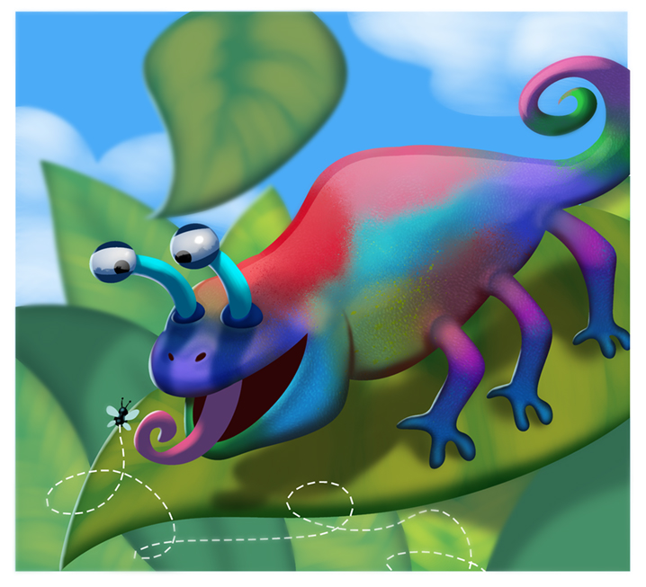 Chameleon by mikeorion22