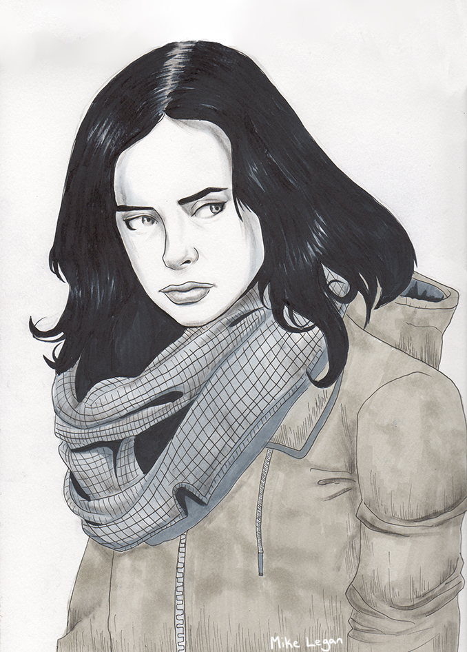 jessica jones by mikeorion22