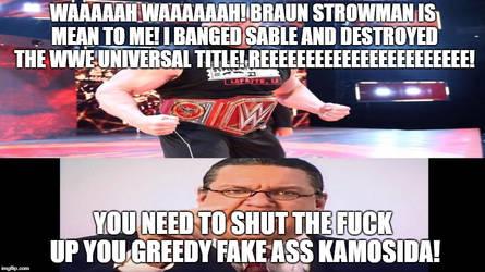Penn tells Brock Lesnar to Shut The Fuck Up! by Megamansonic
