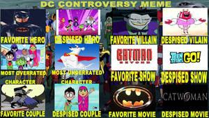 My DC controversy meme