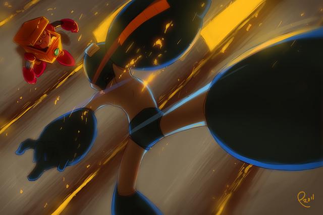 VS Heat man by Pharan