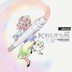 Krupuk - Markers and Water for Clip Studio Paint