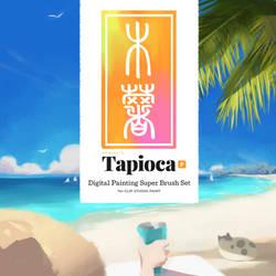 Tapioca - Digital Painting Clip Studio Brush Set