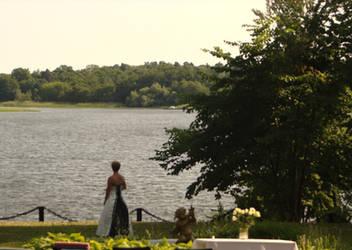 The lone bride