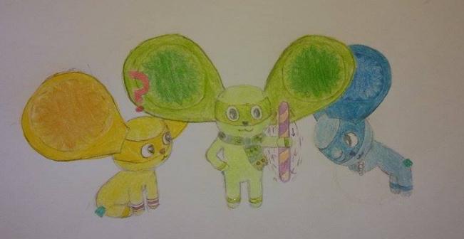 Viva Pinata- Mousemallow Fun by LizzyJazz