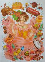 #17 Amaimono by Tanaka2san
