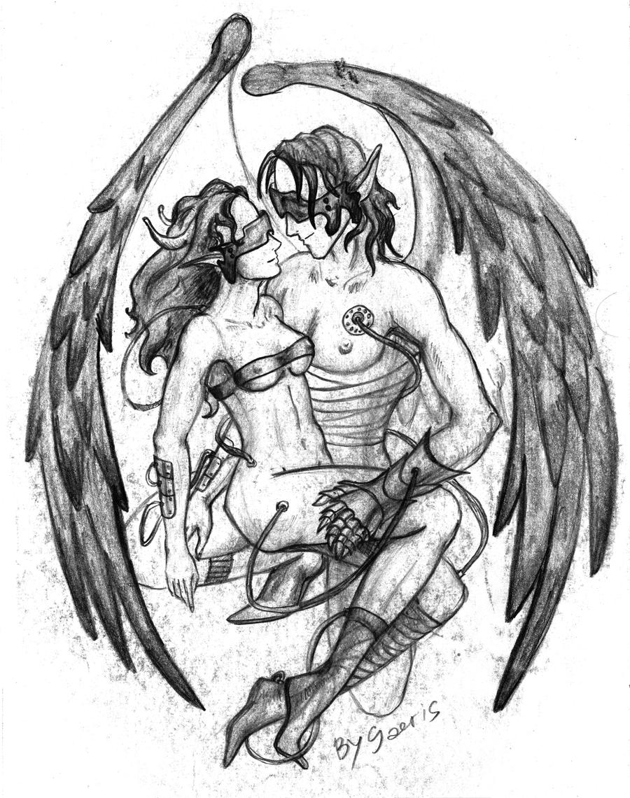 angel and demons drawings - photo #1