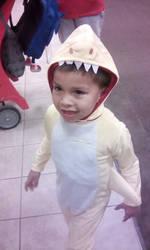 Lil DEMON as baby shark cute huh