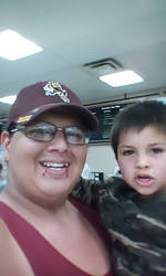 Me and lil Demon at Walmart