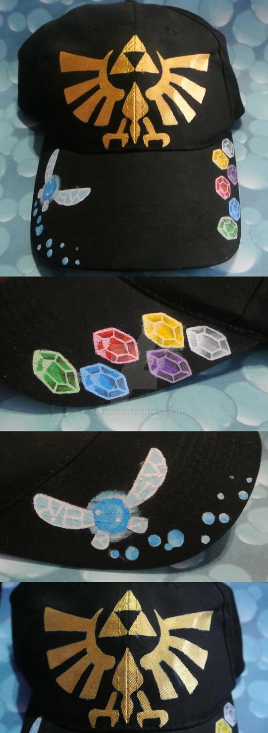 Custom The Legend of Zelda Cap by sexykyo