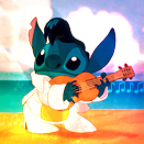 Elvis Stitch Icon by mirmanerd101