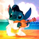 Elvis Stitch Icon by mirmanerd101