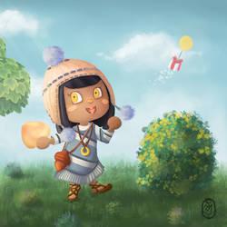 Aymara dans Animal Crossing New Horizons