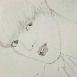 JUNGKOOK BTS sketch