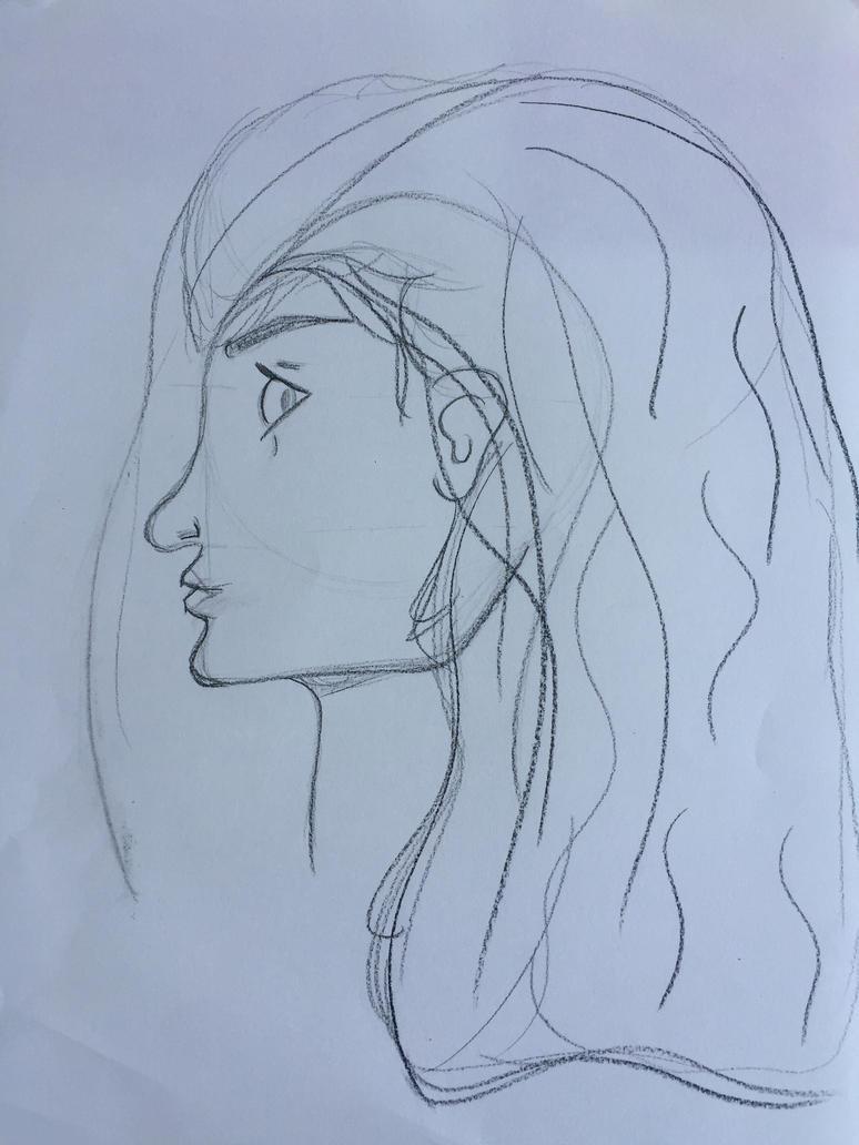 Profile Sketch by Jocelyn1988