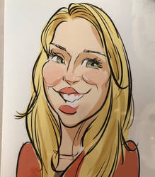 Jocelyn's Caricature by Jocelyn1988