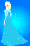 Elsa the Snow Queen (Third Drawing)