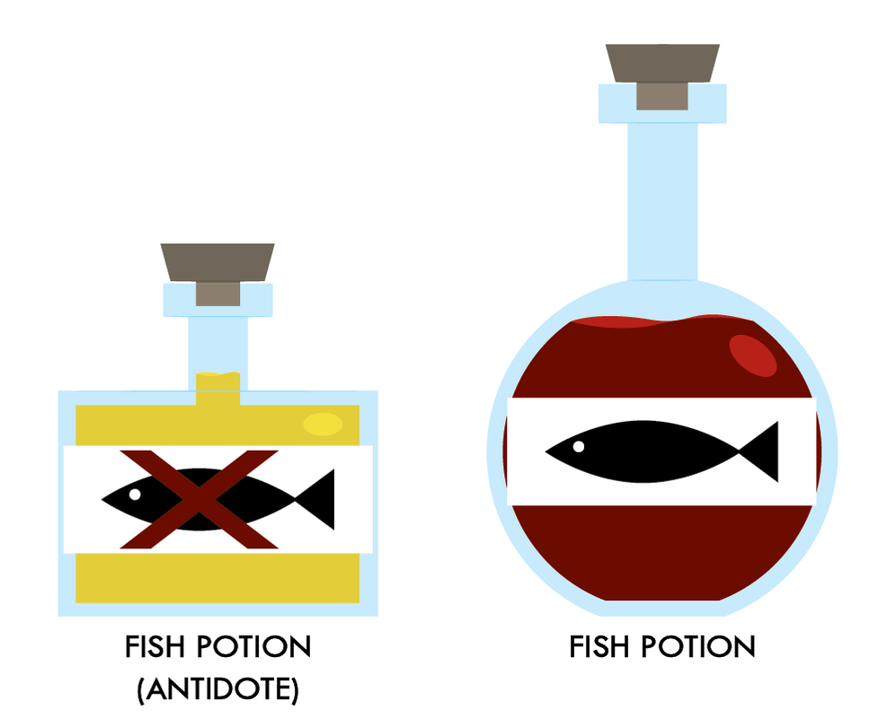 Help i 39 m a fish fish potion by alex2424121 on deviantart for What kind of fish am i