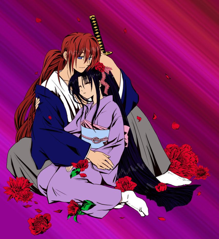 Kenshin X Kaoru ShadePractice by hallow777 on DeviantArt