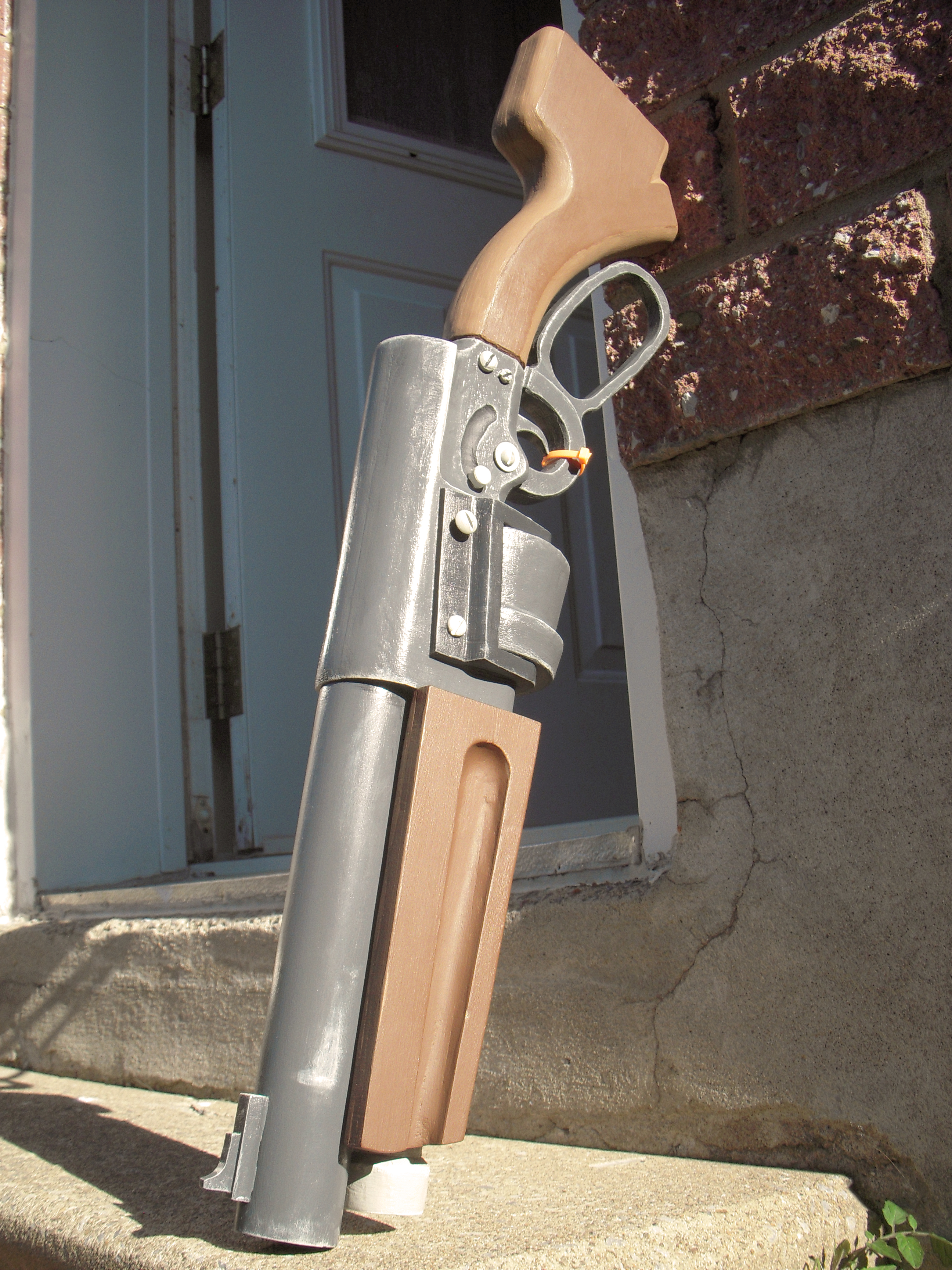 Leave the guns outside. by Raxater