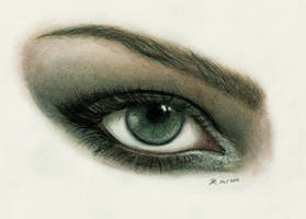 Eye study by Henu-Chan