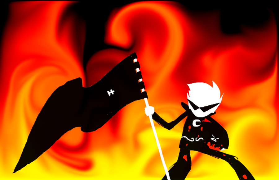 Favoriete Beta/Alpha kid? Dirk_strider__flaming_up_by_iamsomanythings-d4r65cq