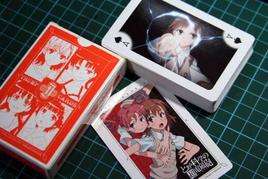To Aru Kagaku no Railgun cards