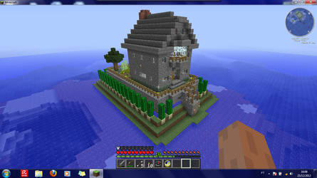 Henry's Minecraft Island Manor (day) by Henry-C