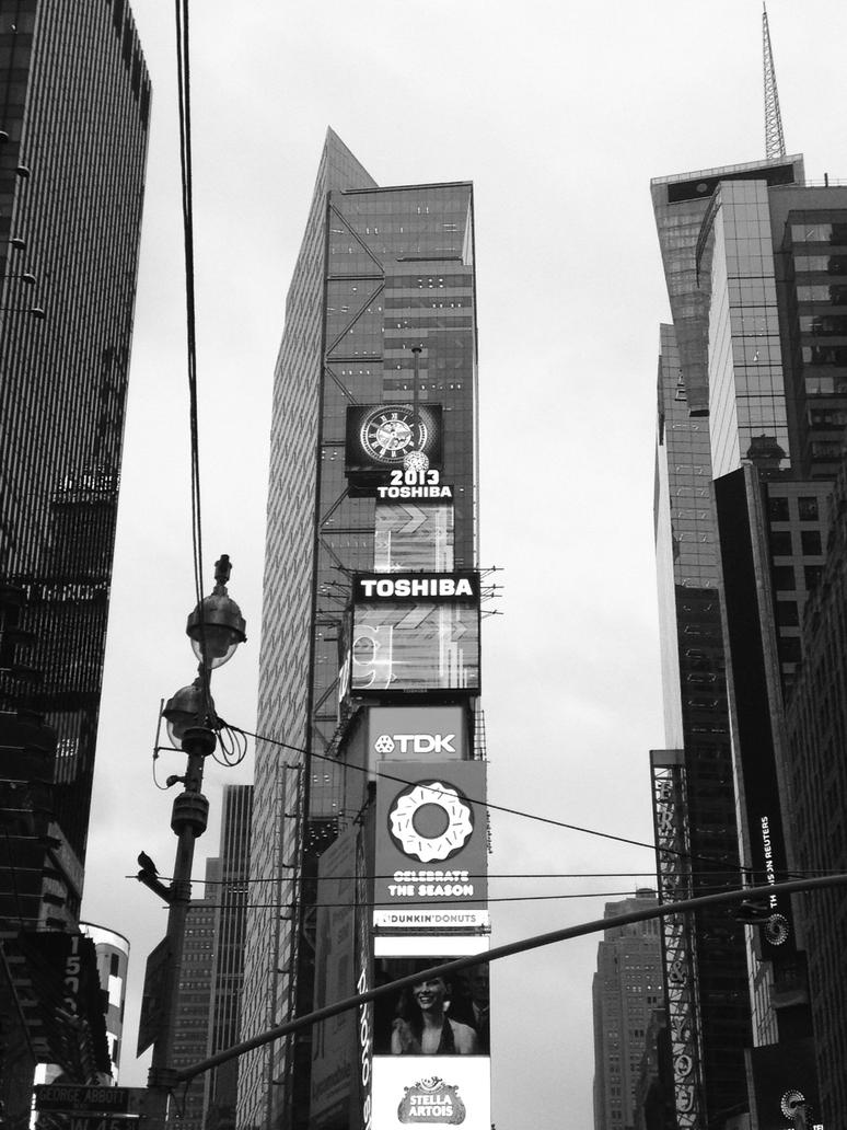 NYC Black and White by andrea9291