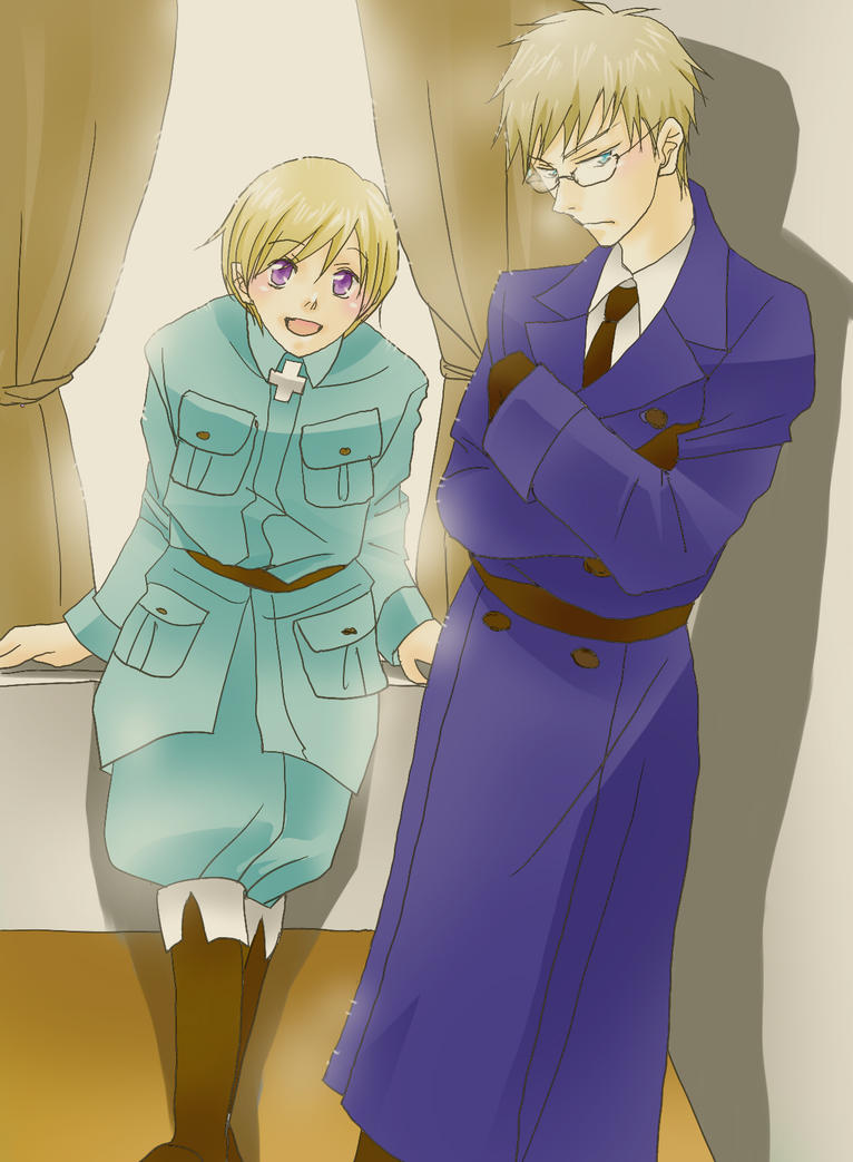 Sweden and Finland : Hetalia by SABAKO-URUME
