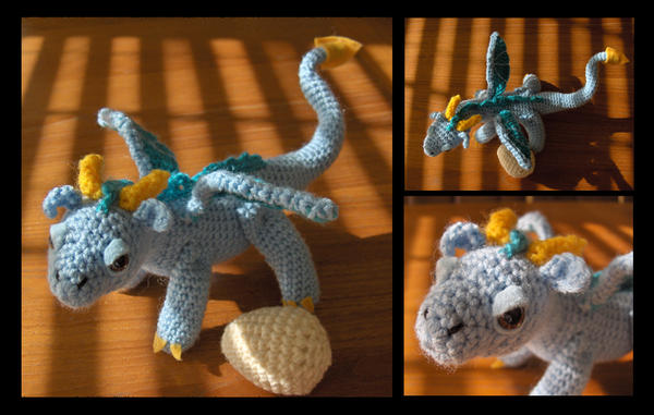 Amigurumi Baby Dragon : Baby dragon crochet pattern game of thrones crochet