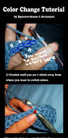 Crochet Color Change Tutorial by Sparrow-dream