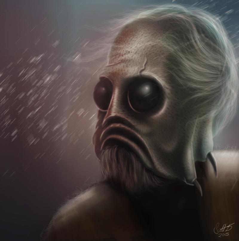 Alien by scottb1977