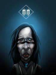 Marilyn Manson by scottb1977