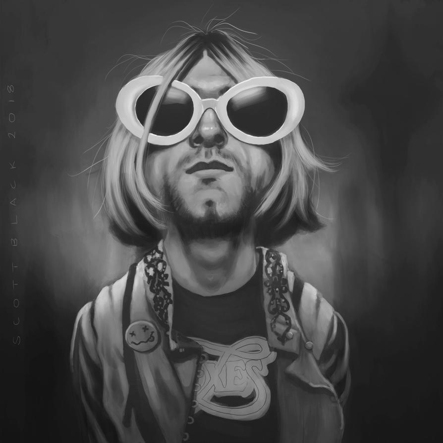 Kurt Cobain by scottb1977