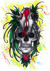 Collector Of Bones by mareCaligine