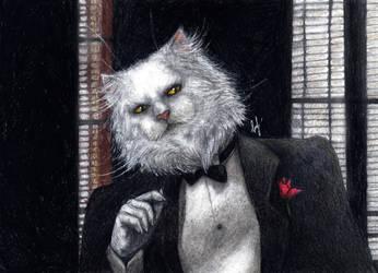 Catfather by mareCaligine