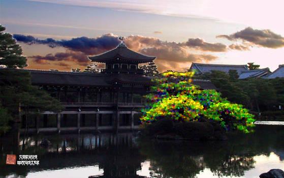 Kyoto Lake Temple