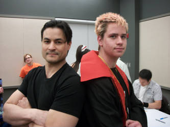 Me and Dan Southworth by dragonsage09