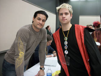 picture with Dan Southworth by dragonsage09