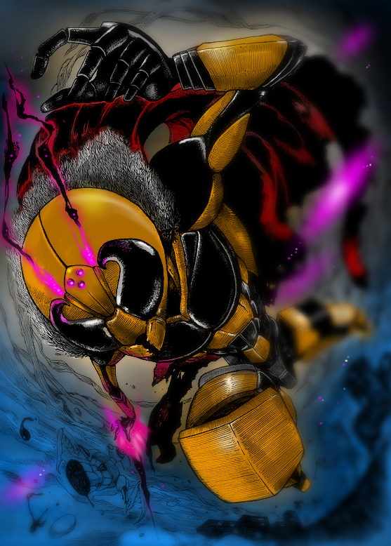 Hornet Man by Kisaragi-Mutsuki