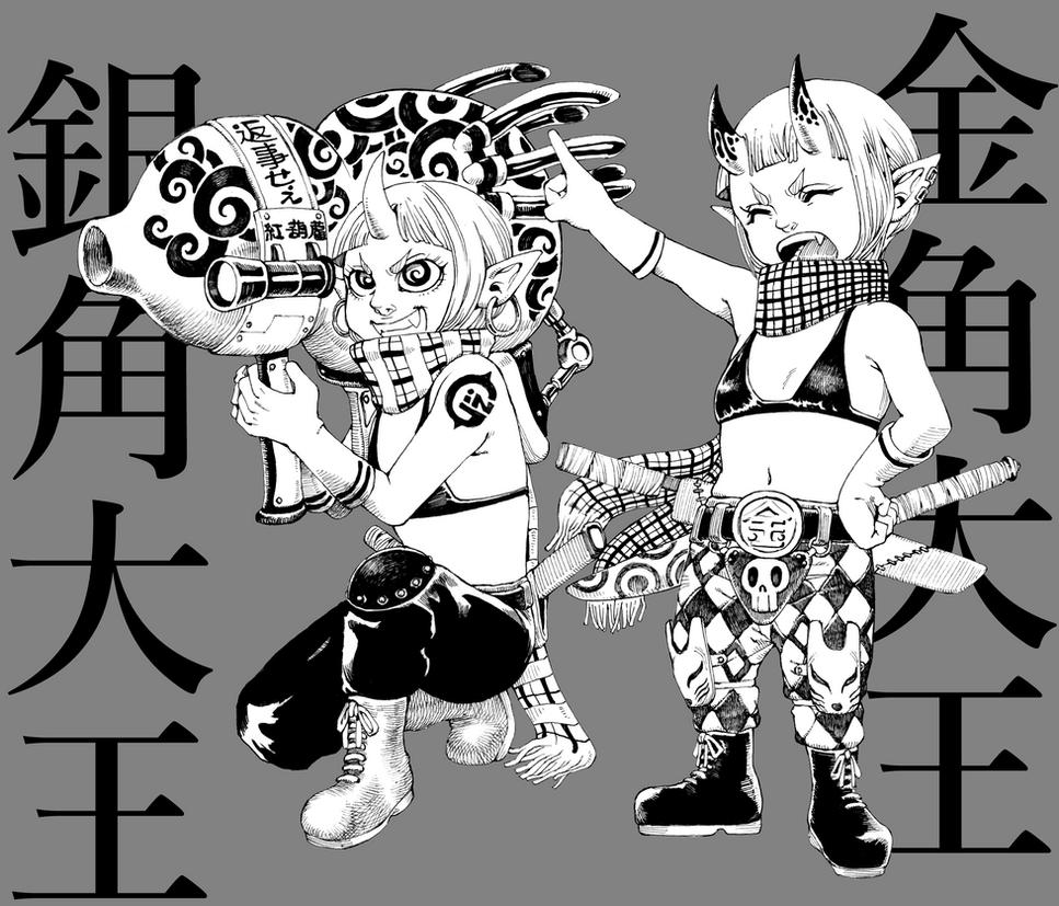 KINKAKUGINKAKU by Kisaragi-Mutsuki