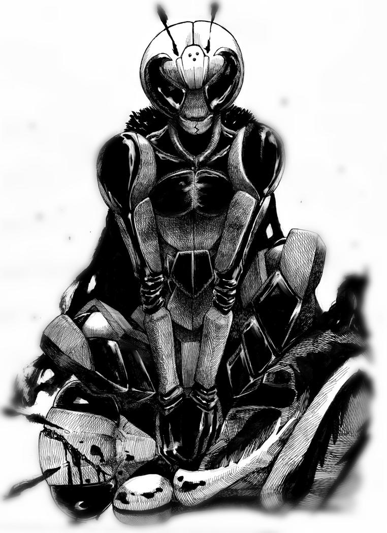 The Hornet Man by Kisaragi-Mutsuki