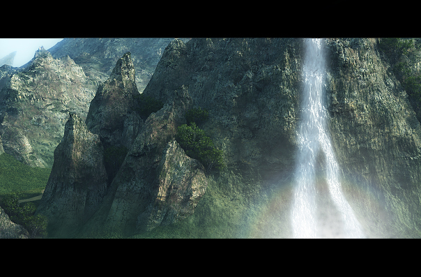 Waterfall by Wasteland-3D