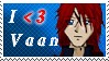 I :heart: Vaan Stamp by KeybladerNyaro