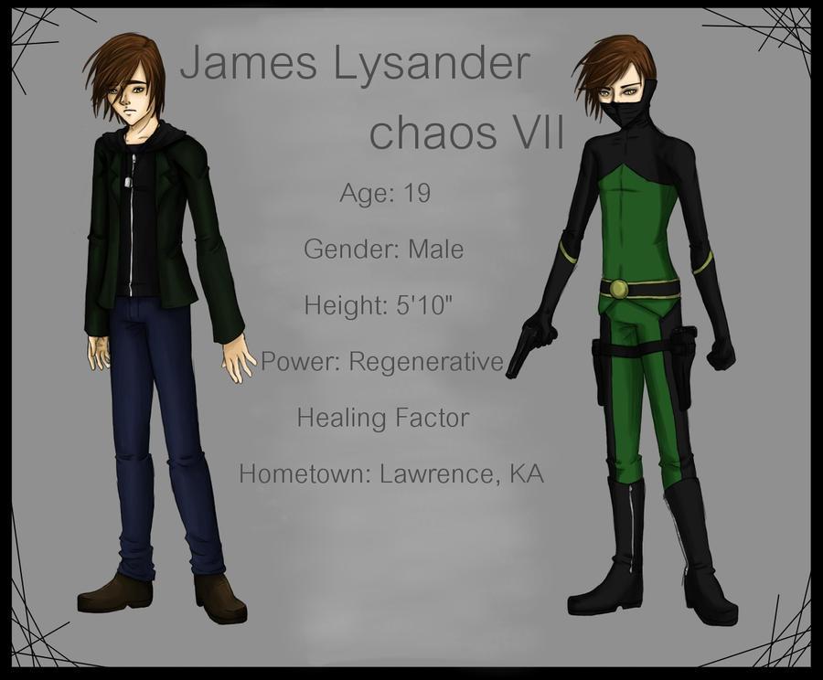 UH- James Lysander V.3 by KeybladerNyaro