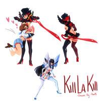 Kill La Kill Stuff by reyokk