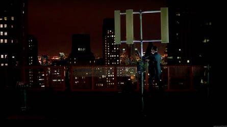 Batman-ish Finch wallaper