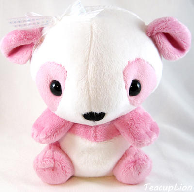 Plush - Pink Panda by TeacupLion