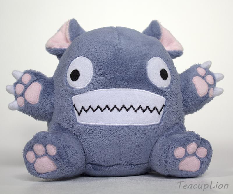 Original Plush - Bitey Creature by TeacupLion